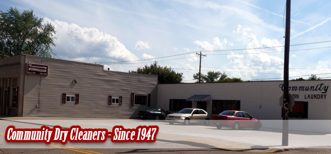 Community Dry Cleaners - Since 1947